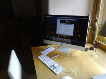 iMac im Schloss Romrod