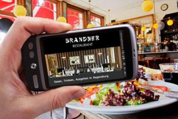 Mobile Webseiten für Restaurants