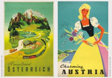 Österreich Tourismus Vintage