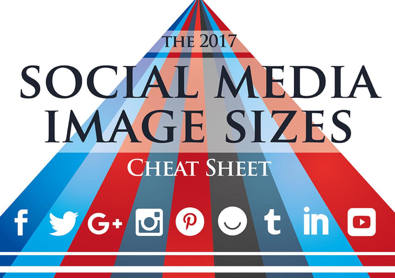 Social Media Image Sizes 2017